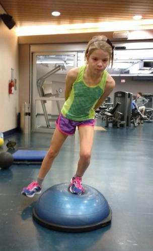 5th Step: Bosu-Ball Stability & Ski Posture
