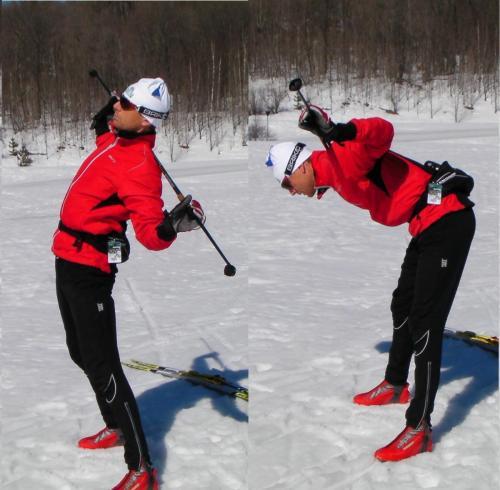 5. Poles on Shoulder Flexion - Extension